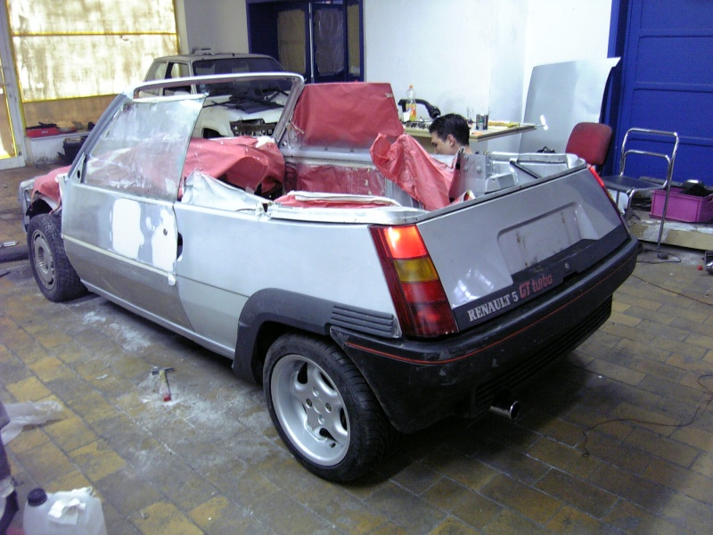 renault 5 gt turbo cabriolet a vendre. Black Bedroom Furniture Sets. Home Design Ideas