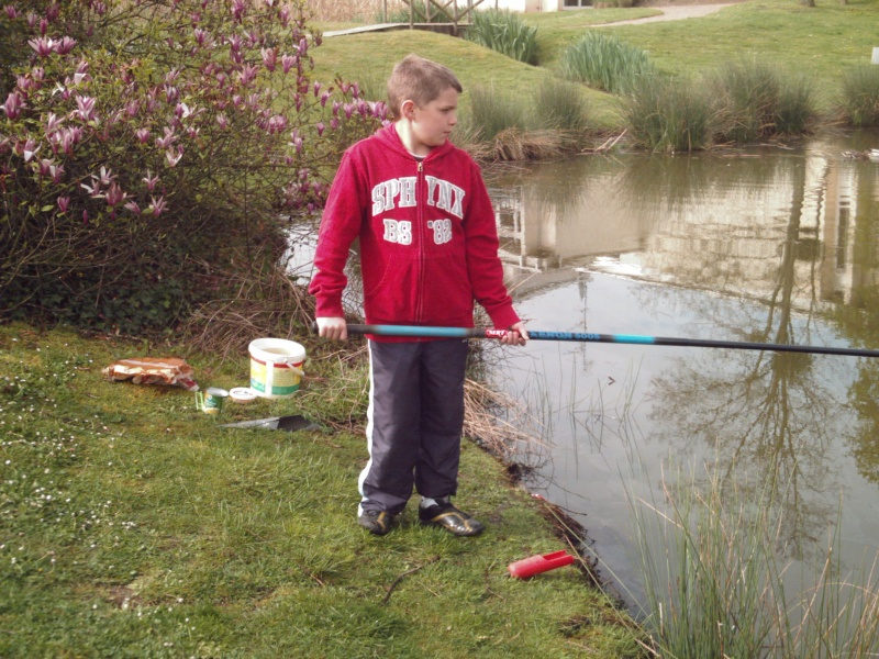 Pechemaniac com une semaine de p che for Marre a poisson