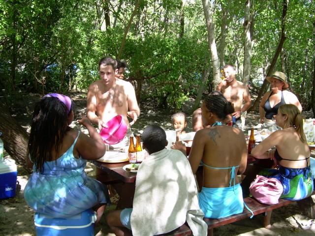 Hamac-Party à l'Anse Meunier Janvier 2007 !!! Barbeu28