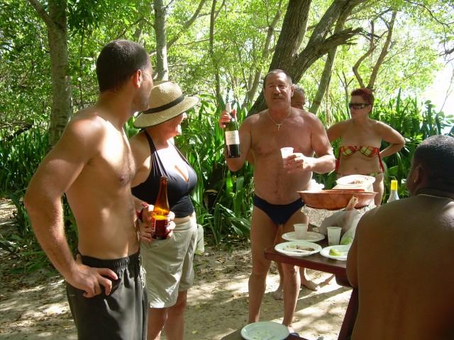 Hamac-Party à l'Anse Meunier Janvier 2007 !!! Barbeu30