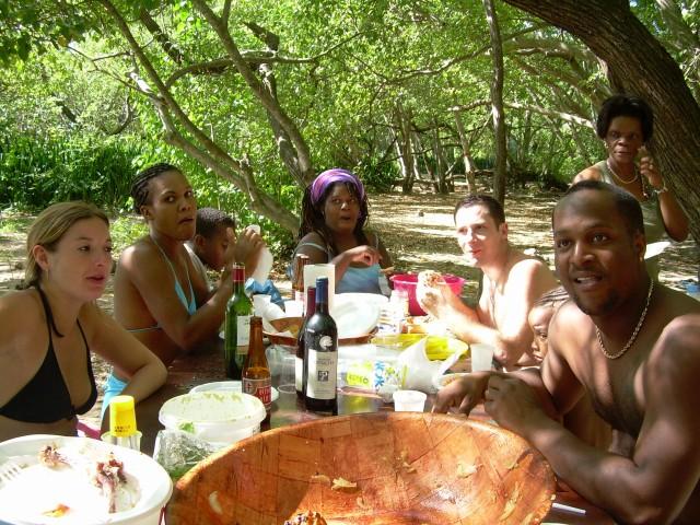 Hamac-Party à l'Anse Meunier Janvier 2007 !!! Barbeu31
