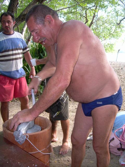 Hamac-Party à l'Anse Meunier Janvier 2007 !!! Barbeu39
