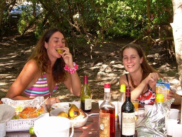 Hamac-Party à l'Anse Meunier Janvier 2007 !!! Barbeu45