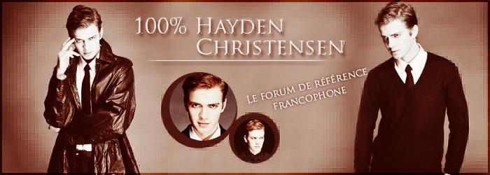 100% Hayden Christensen