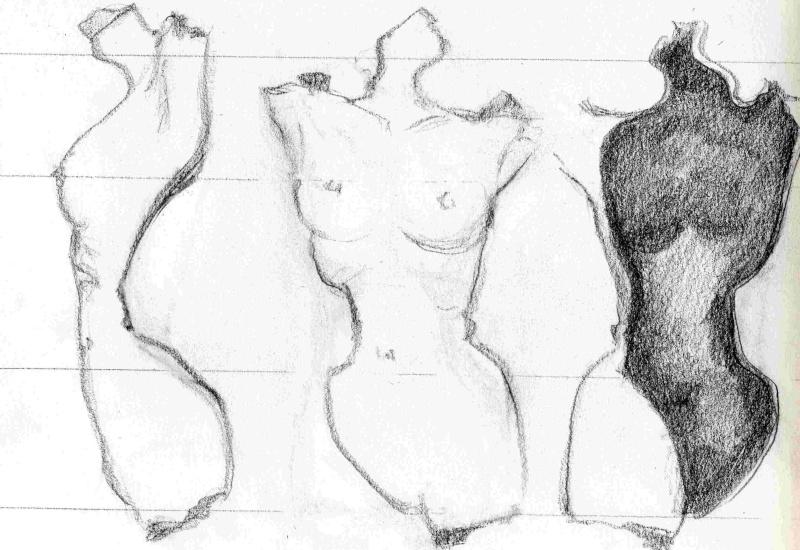 Dessins de sculpteurs Dessin26
