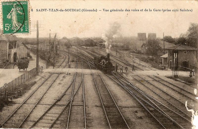 Pk 572,7 : Gare de Saint-Mariens - Saint-Yzan (33) Images11