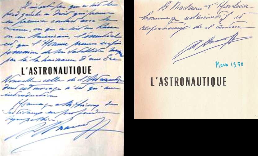 "Livres : ""L'Astronautique"" d'Ananoff - Page 2 Dedica10"
