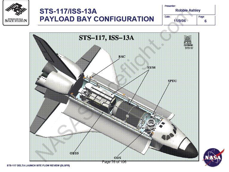 STS-117 : Préparations 11710