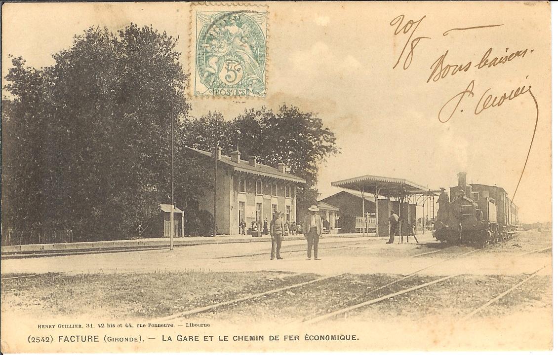 Pk 039,3 : Gare de Facture - Biganos (33) Factur10