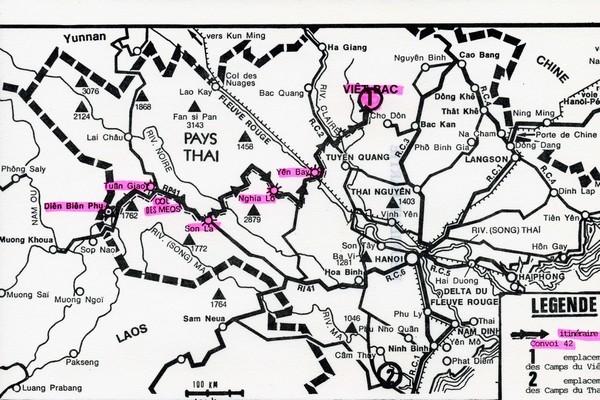 [ Histoires et histoire ] SEUL POMPON ROUGE à DIEN-BIEN-PHU - Page 2 Convoi10