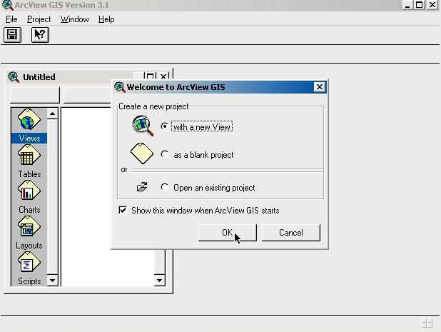 ARCVIEW กับงานที่อยู่ใช้ 1 A00710