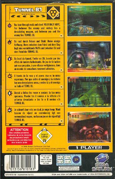 La collection de jeux saturn à Korok. Tunel-11