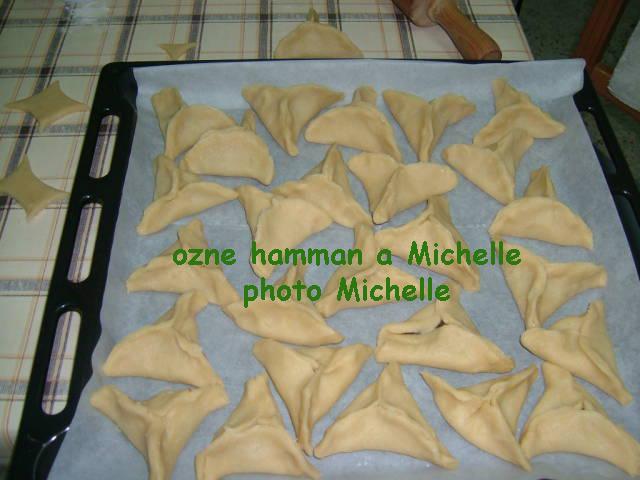LES OZNES AMAN DE POURIM PREPARES PAR MA SOEUR MICHELLE Ozne510