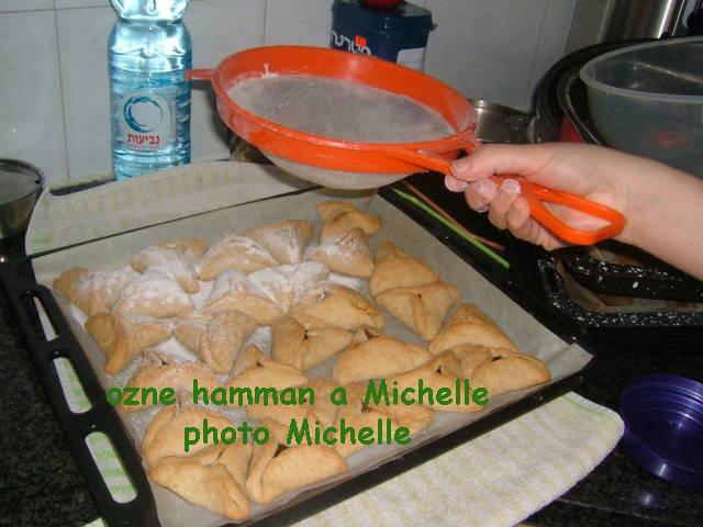 LES OZNES AMAN DE POURIM PREPARES PAR MA SOEUR MICHELLE Ozne610
