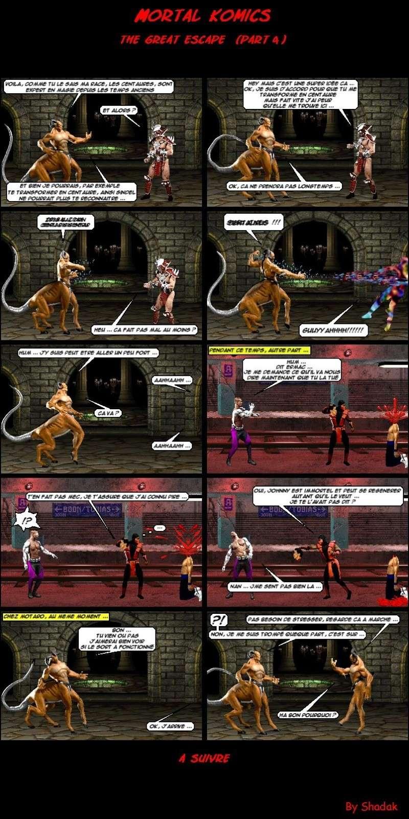 Mortal Komics : Récapitulatif 411