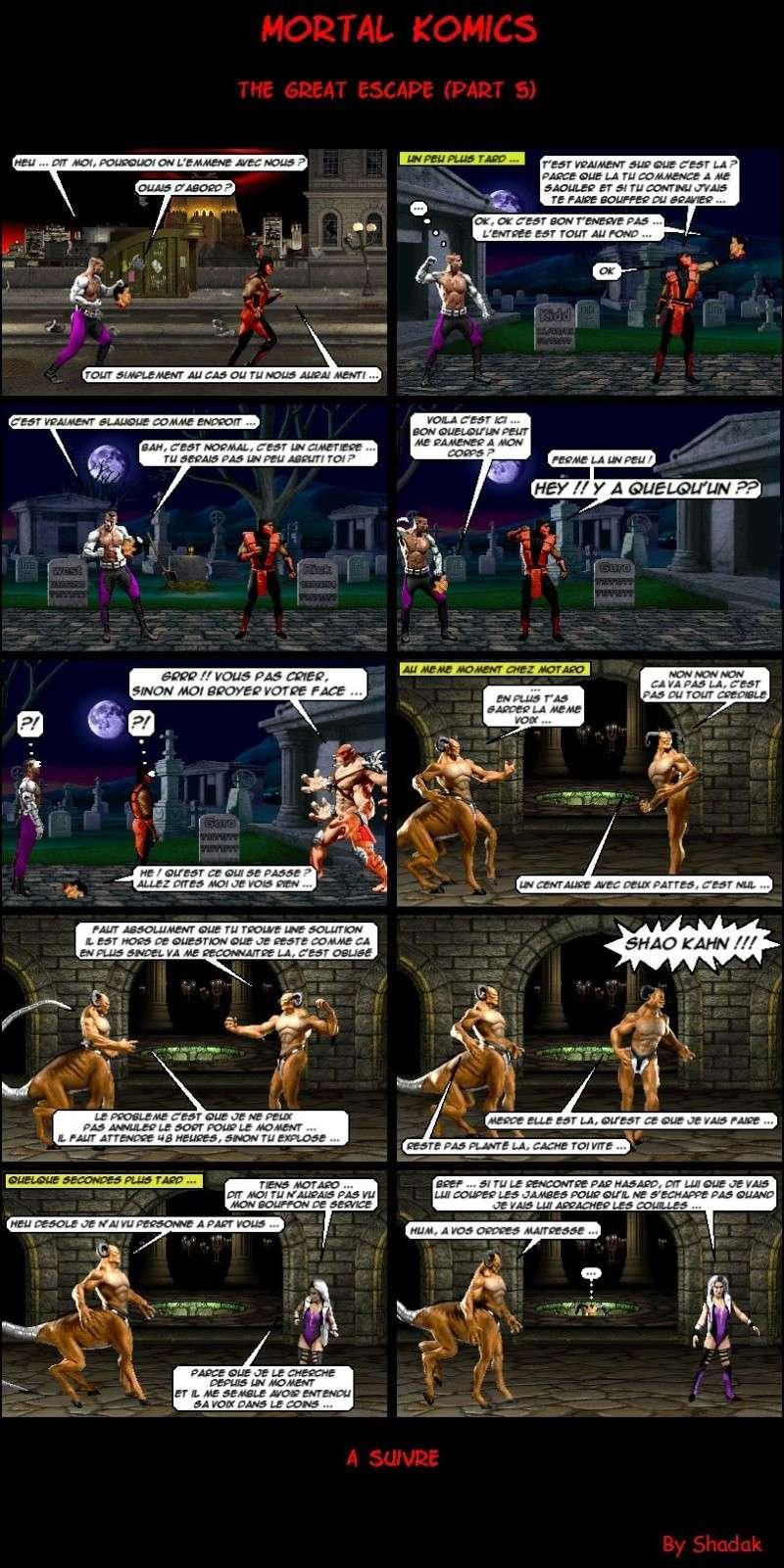 Mortal Komics : Récapitulatif 511