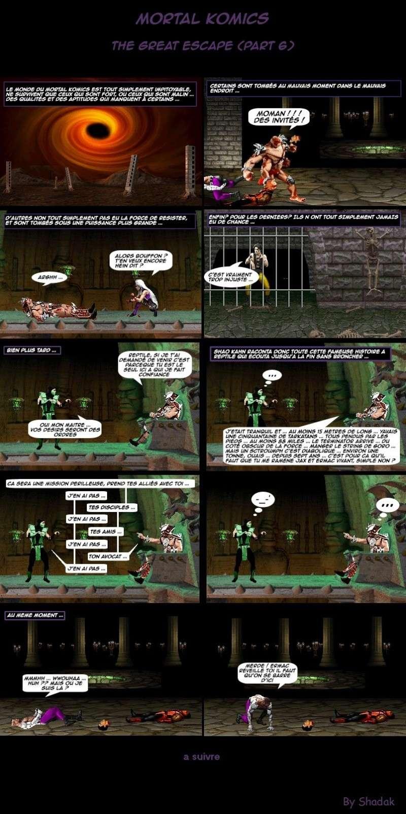 Mortal Komics : Récapitulatif 610
