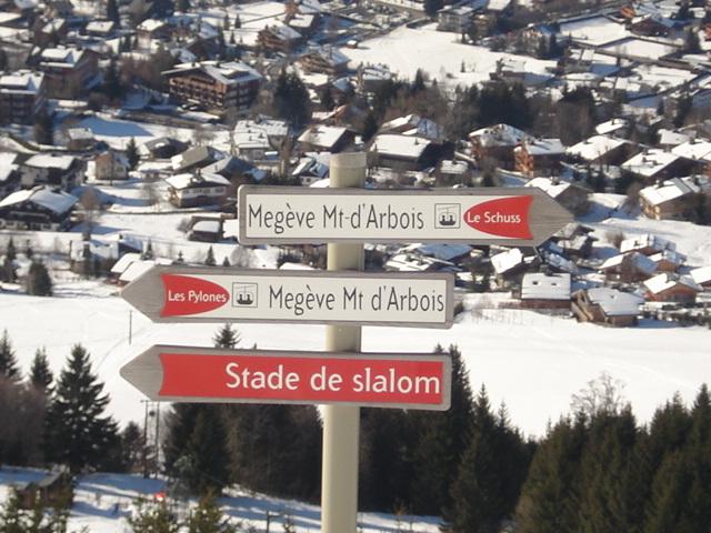 Schuss; Megève Mont d'arbois Dsc00641
