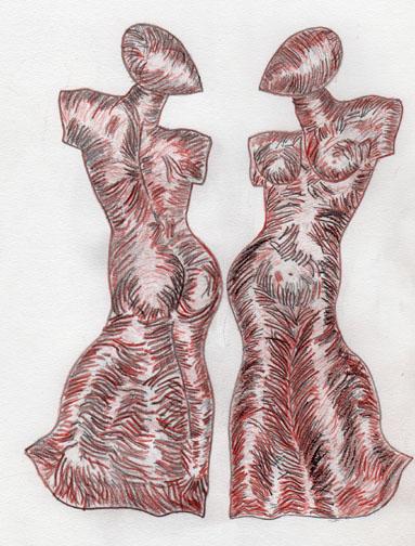 Dessins de sculpteurs - Page 2 Mila_110