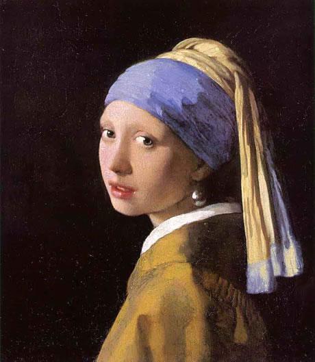 Johannes vermeer la jeune fille la perle for Biographie de vermeer