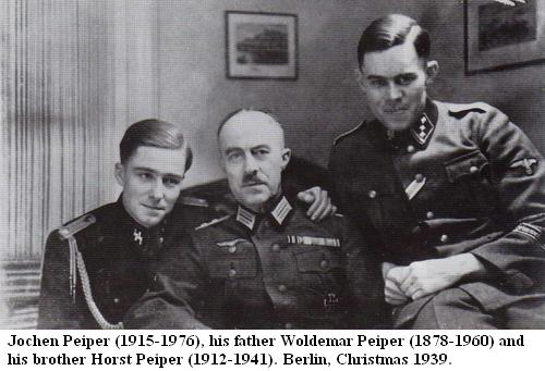 Billedresultat for Joachim Peiper and hitler