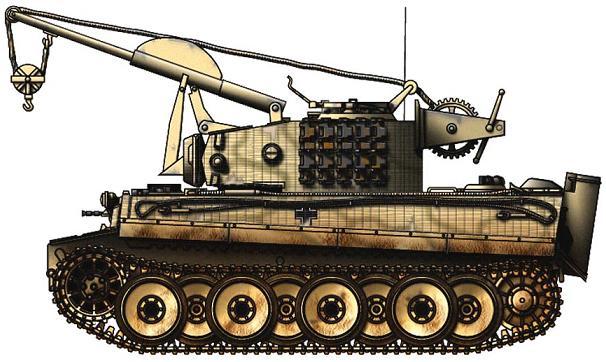 Des chars tigres posa toujours un gros problèmes aux allemands