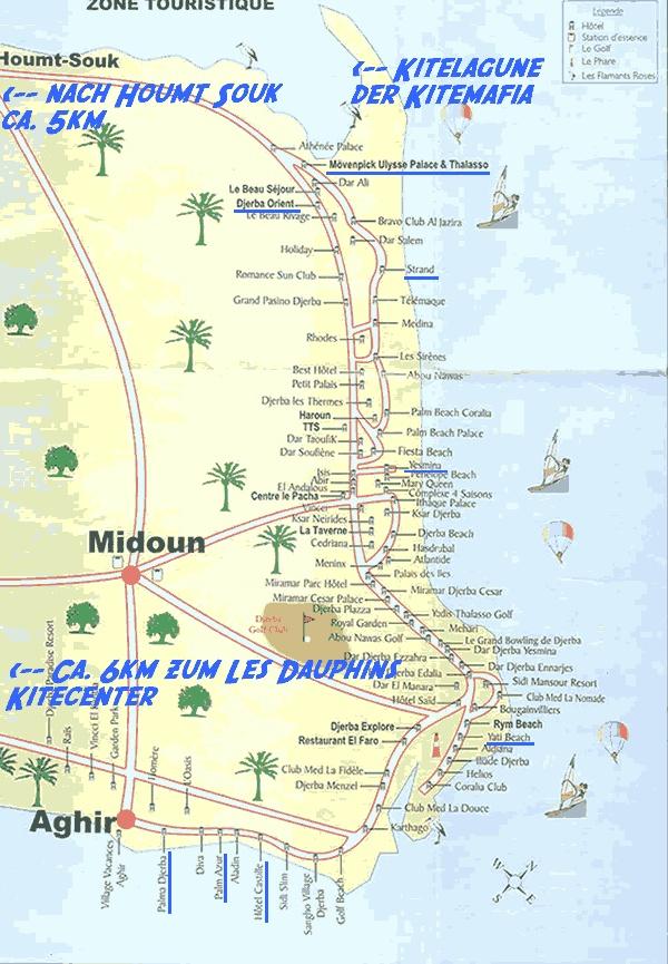 Pin plan du site lotophages djerba on pinterest for Site des hotels