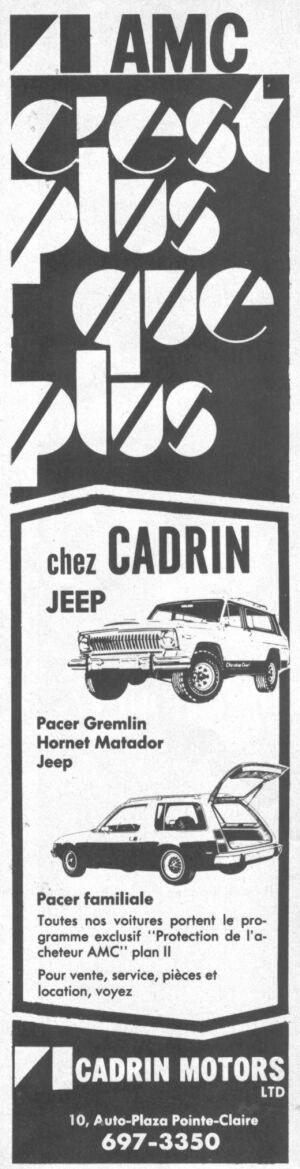 Les anciens dealers AMC du Québec Cadrin10
