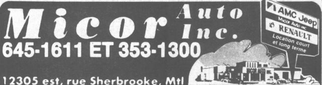 Les anciens dealers AMC du Québec Micora10