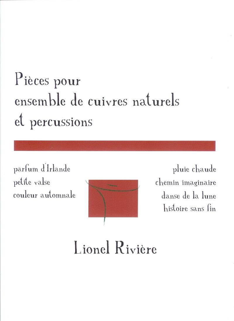 RECUEIL POUR ENSEMBLE DE CUIVRES NATURELS - Lionel Rivière Livret12