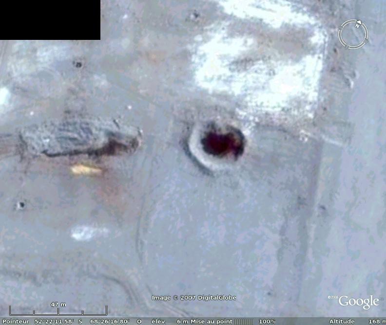 Est-ce un cratère de météorite ? Argentine Crater13