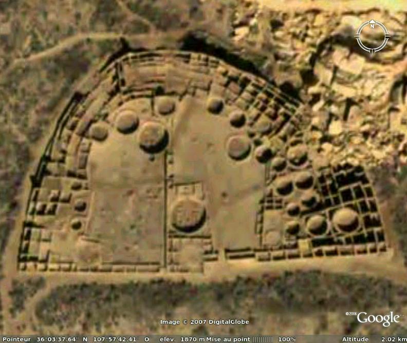Pueblo Bonito, cité des indiens Anasazis Pueblo10