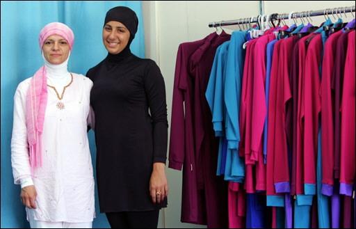 une musulmane australienne invente un bikini  pour musulmane 07011810