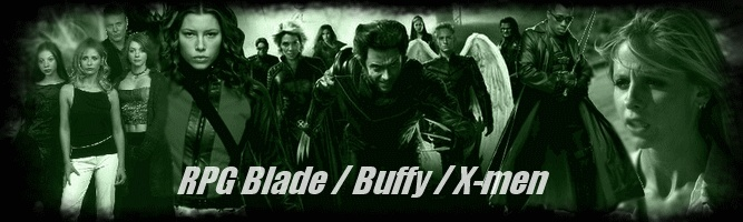 Rpg Blade/Buffy/X-men V2