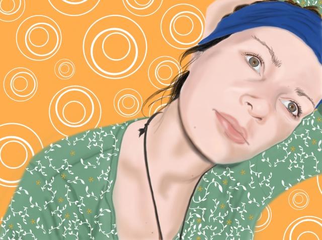 rêveuse dans portrait delph11