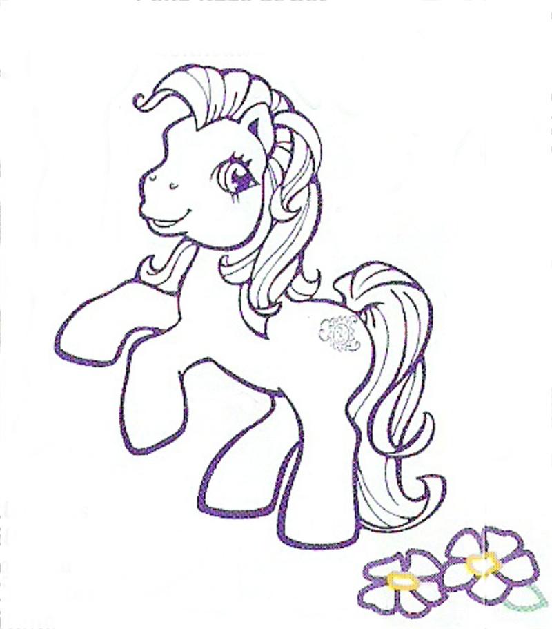 les petits poneys Poney110