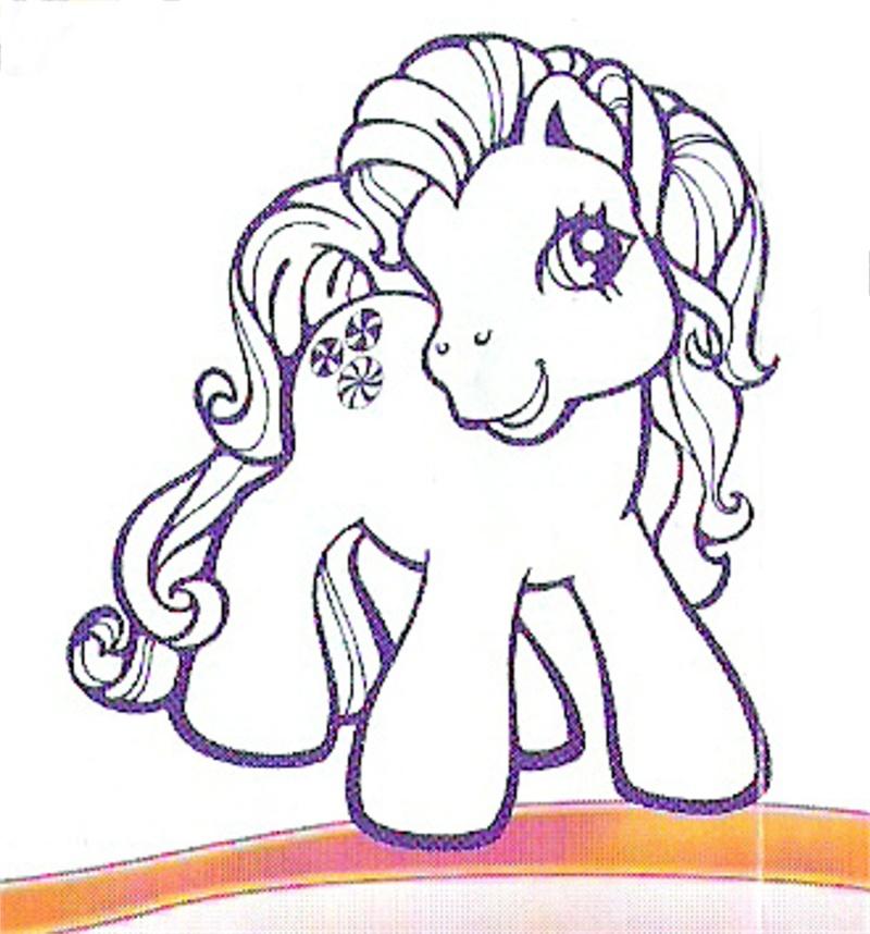 les petits poneys Poney510