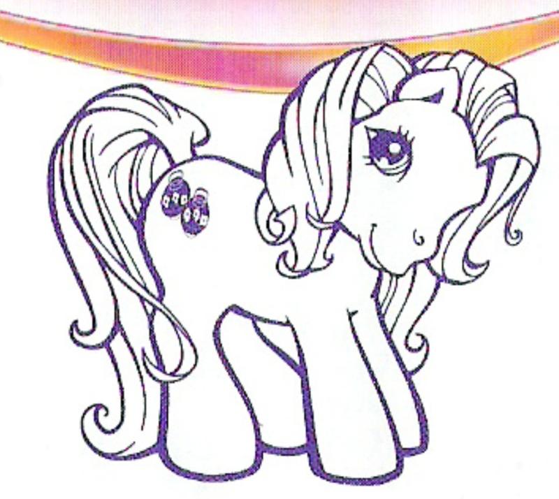 les petits poneys Poney610