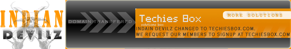 Now Devilz Upgraded to www.TechiesBox.com