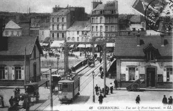 [Activité des ports hors Marine] LE PORT DE CHERBOURG - VOLUME 001 - Page 2 Le_pon10