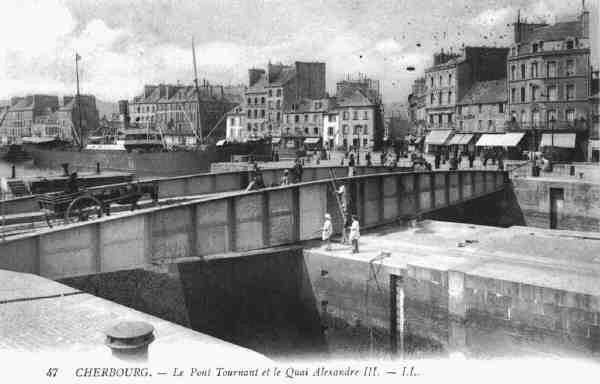 [Activité des ports hors Marine] LE PORT DE CHERBOURG - Page 2 Pont_t10