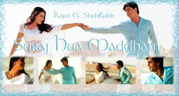 SRK**Kajol
