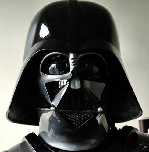 casques et costumes de dark vador en vente sur ebay et forum. Black Bedroom Furniture Sets. Home Design Ideas