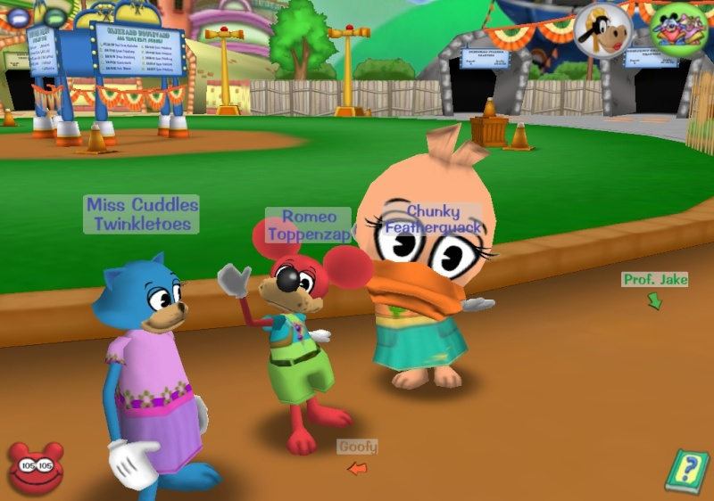 Friends of Toontown!