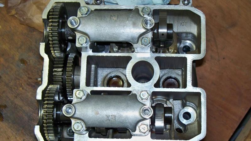 culasse moteur avant et arriere Suzuki 1000 TLS TL1000S