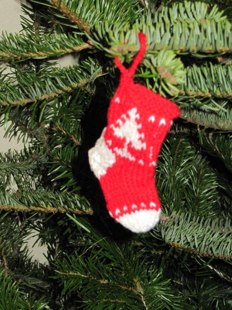Decoration de noel en tricot - Deco de noel a tricoter ...