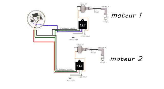 comment fabriquer un allumage pour 2 moteur   mob turc