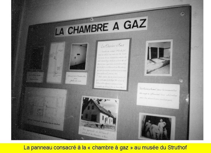 La pr tendue chambre gaz du struthof for Camp du struthof chambre a gaz