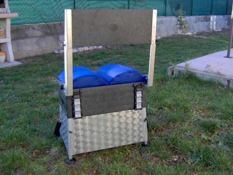 vend panier si ge fix2 avec dossier et pieds r glables. Black Bedroom Furniture Sets. Home Design Ideas