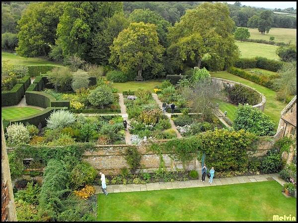 Melvin d photographies archives du blog sissinghurst garden vue du haut de la tour - Par vue de jardin ...
